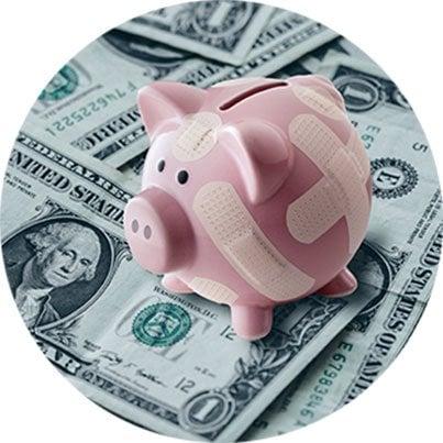 Save money, prevent debt