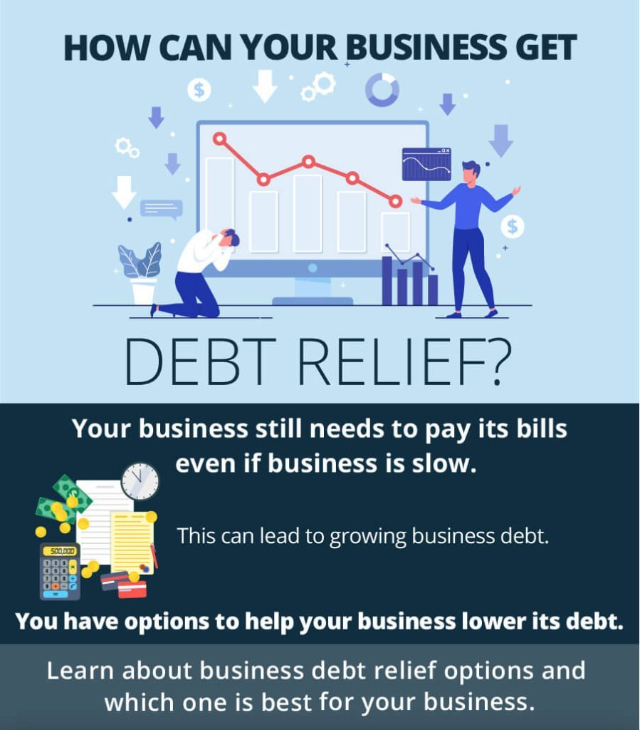 how can your business get debt free